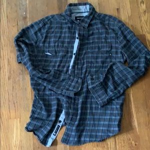 Men's marmot flannel button down shirt